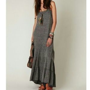 Free people maxi racer back ruffle - move west